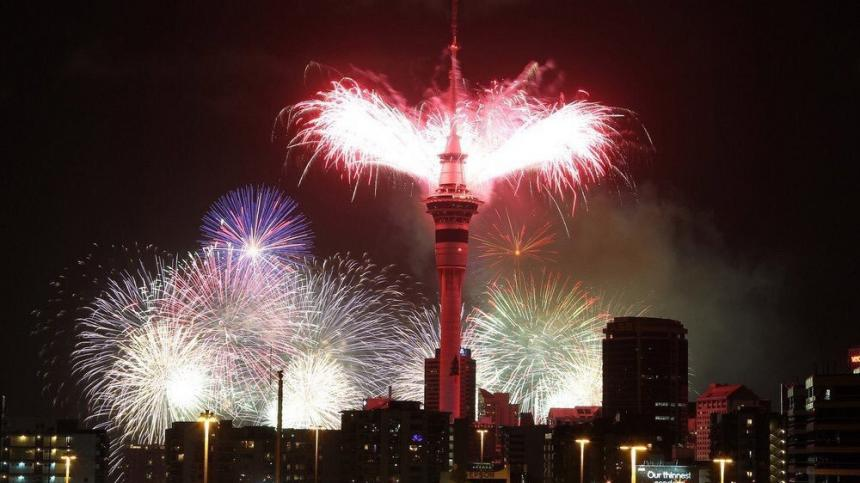 Samoa y Nueva Zelanda ya están en 2019 — Año Nuevo