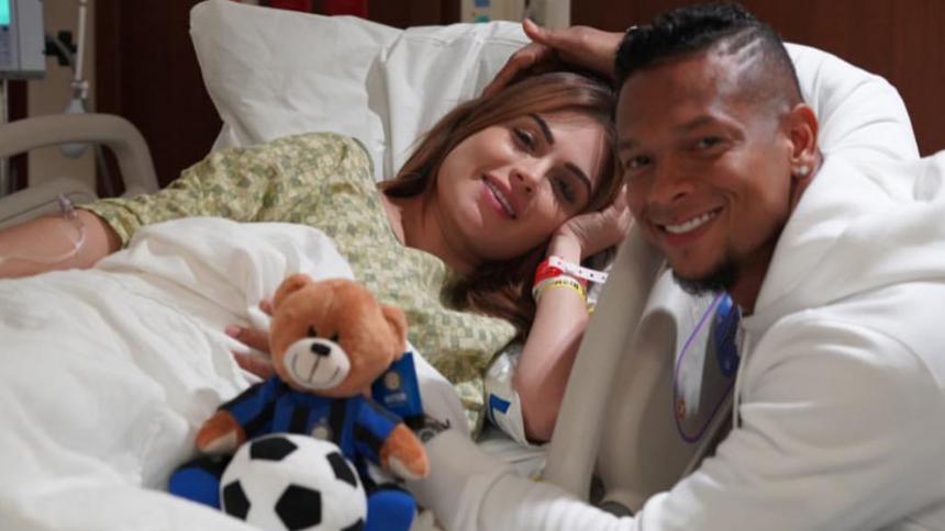 ¡Nació el hijo de Sara Uribe y Freddy Guarín! en Miami