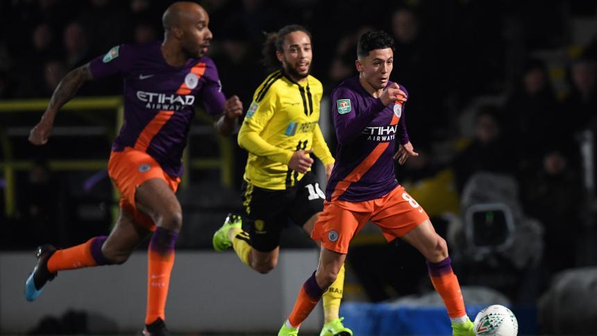Un colombiano, muy cerca de debutar con el Manchester City