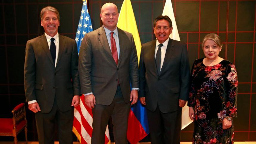 Cumbre judicial colomboamericana para fortalecer lazos de cooperación bilateral