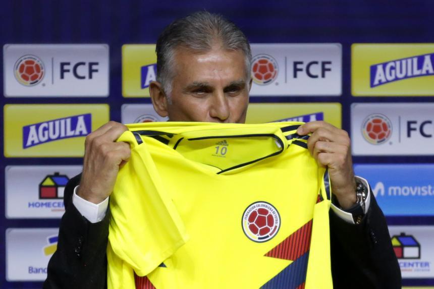 Amistoso, Colombia vs Corea del Sur, en Seúl