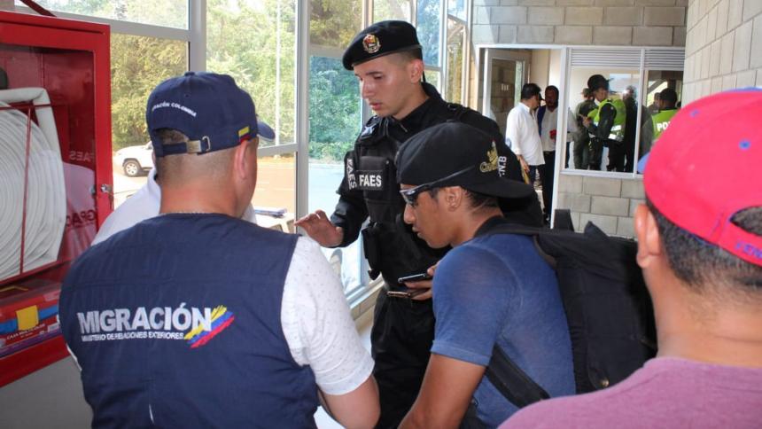 Cortesía Migración Colombia