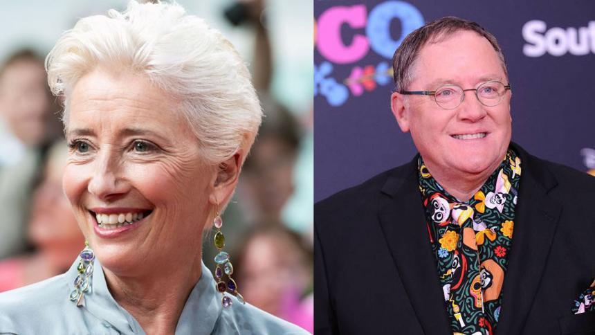 Emma Thompson renunció a Luck para no trabajar con John Lasseter