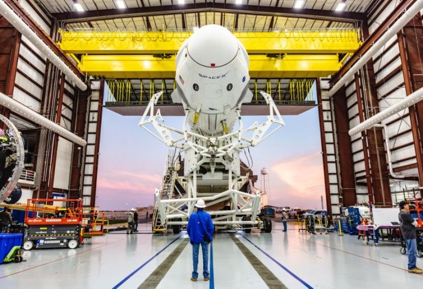 Space X lanza este sábado la primera Crew Dragon para enviar astronautas