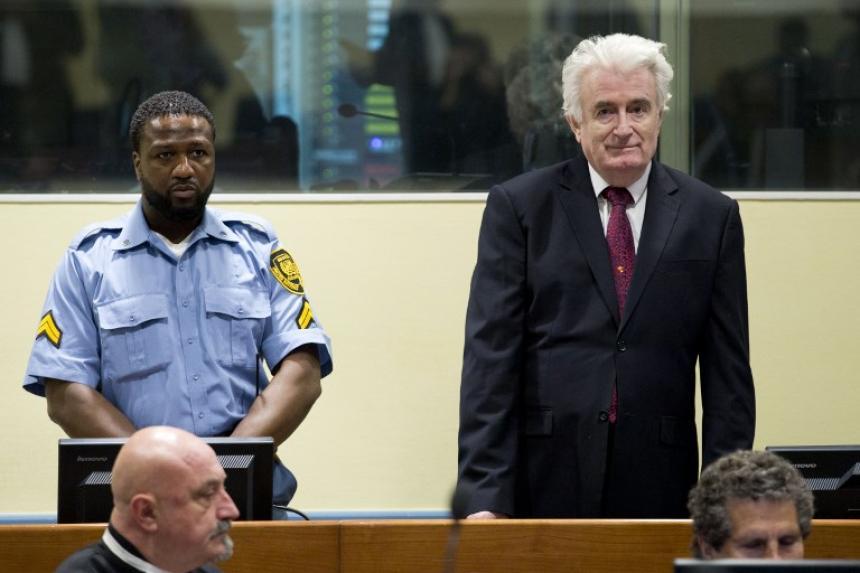 Cadena perpetua para ex líder serbobosnio por crímenes de lesa humanidad