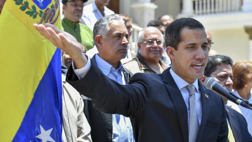 Sacamos definitivamente al usurpador de la OEA — Guaidó