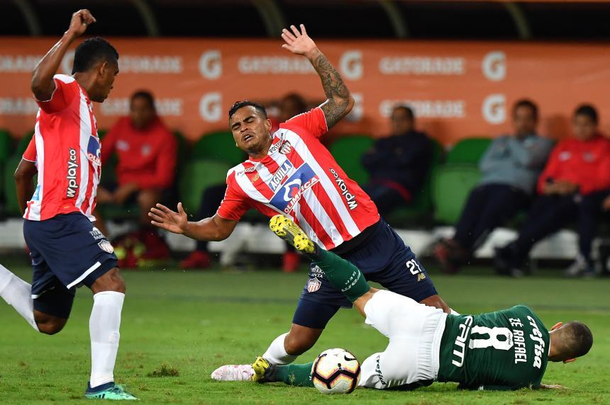 Un pobre Junior quedó eliminado de la Copa Libertadores