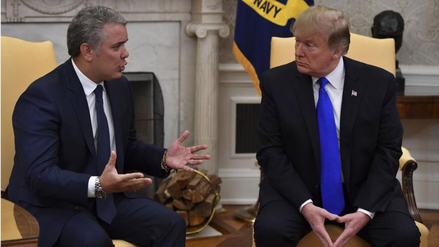 EE UU y Colombia tensan sus relaciones por lucha antidrogas