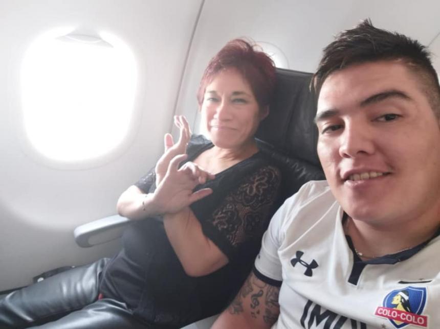 Carabinera desaparece tras viajar a Colombia con joven 23 años menor