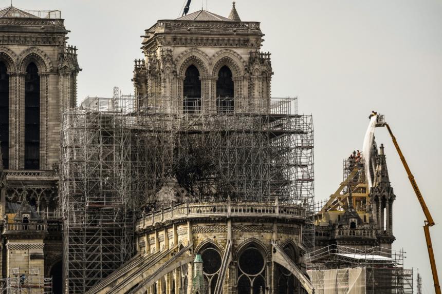 El COI donará 500.000 euros para restaurar Notre Dame