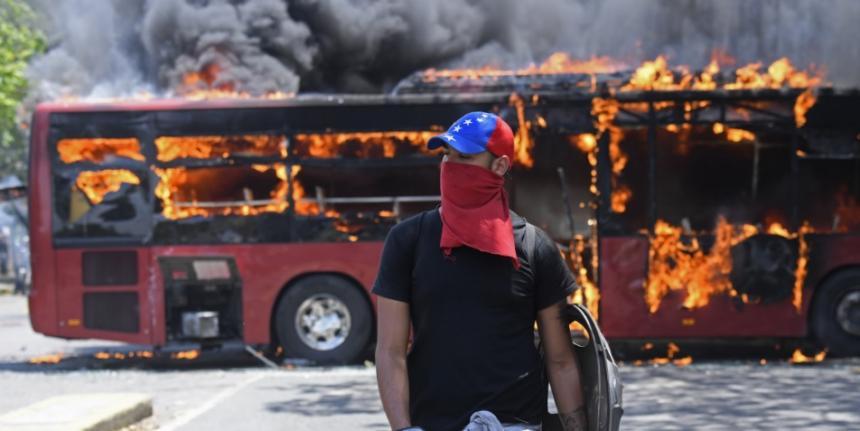 Secretario de la ONU pide que pare la violencia en Venezuela