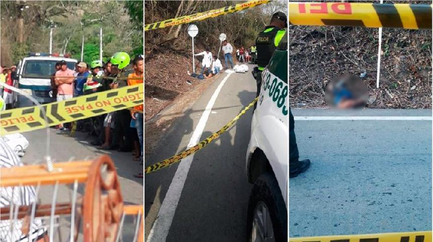 Hallada muerta venezolana en una carretera de Colombia