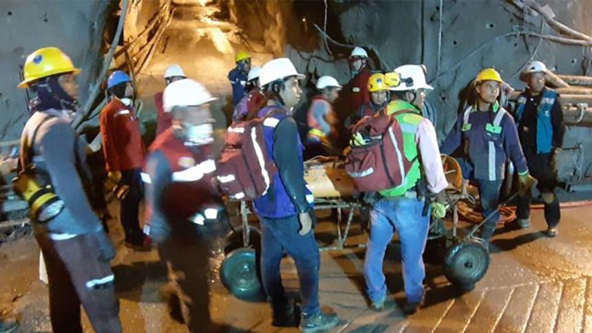 Hidroituango: evacuados 105 trabajadores por infiltraciones de agua