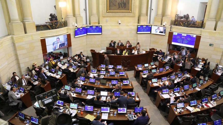 Debate de moción de censura a Mindefensa será este miércoles en Cámara