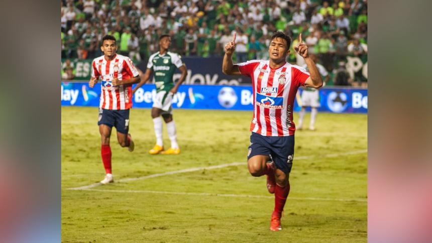 Con este gol de último minuto, Tolima le empató al Junior