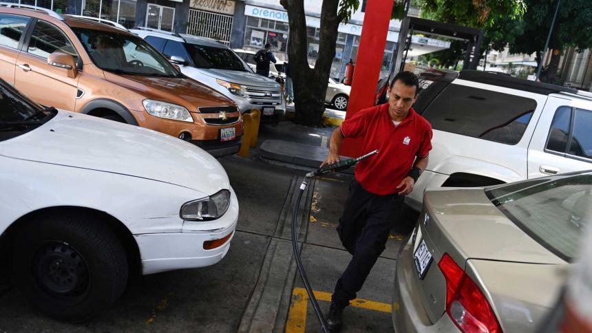 PDVSA desmiente informaciones sobre la escasez de gasolina en Venezuela