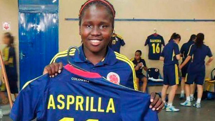 Encuentran cuerpo sin vida de la jugadora Leidy Asprilla