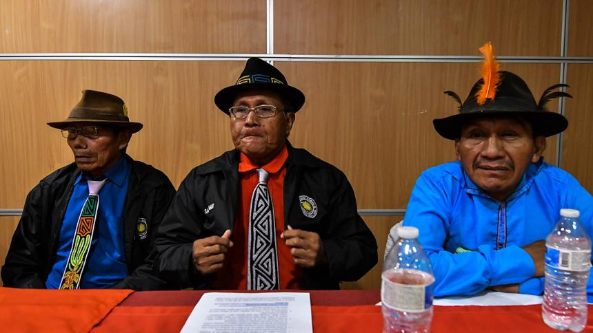 Congreso General Guna rechaza uso de la mola en estampado de zapatilla