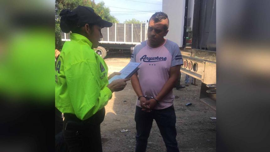 Capturado presunto financiador del atentado contra la Escuela General Santander