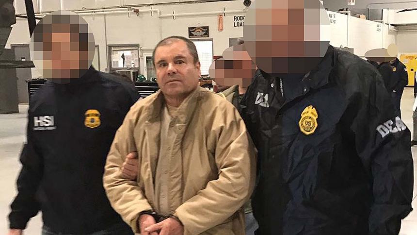 Rechazan moción para dar botellas de agua a Guzmán Loera — El Chapo