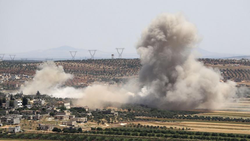 Nuevos bombardeos en Siria dejan al menos siete muertos