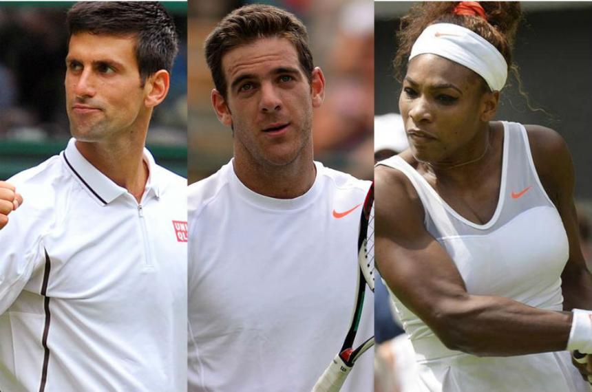 Serena Williams expulsa a Thiem de la rueda de prensa