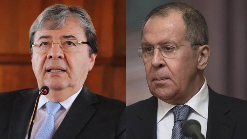 Colombia y Rusia rechazan uso de la fuerza en Venezuela
