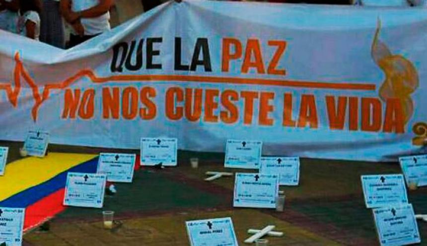 Otro líder social fue asesinado en Colombia