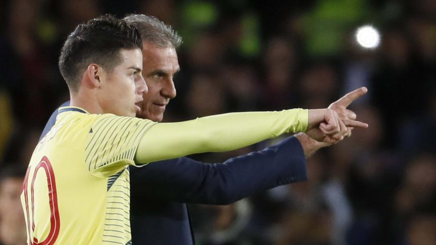 OFICIAL: El Bayern Munich anunció la salida de James Rodríguez