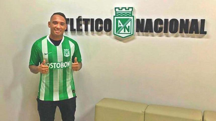 Jarlan Barrera ya es jugador del Atlético Nacional