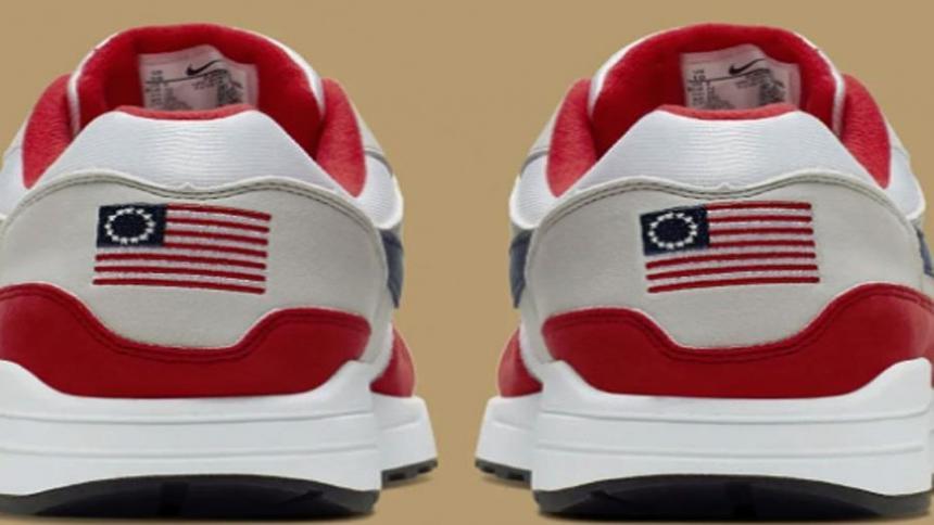 Air Max 1 USA: Nike retira unas zapatillas con un símbolo