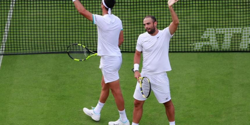 ¡Imparables! Cabal y Farah clasificaron a los cuartos de final de Wimbledon