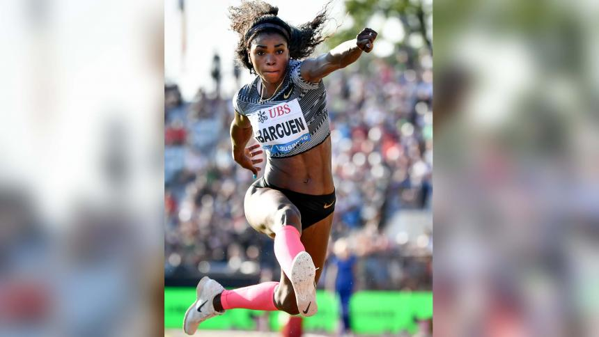 Mala parada para Caterine Ibargüen en la Liga Diamante - Olímpico