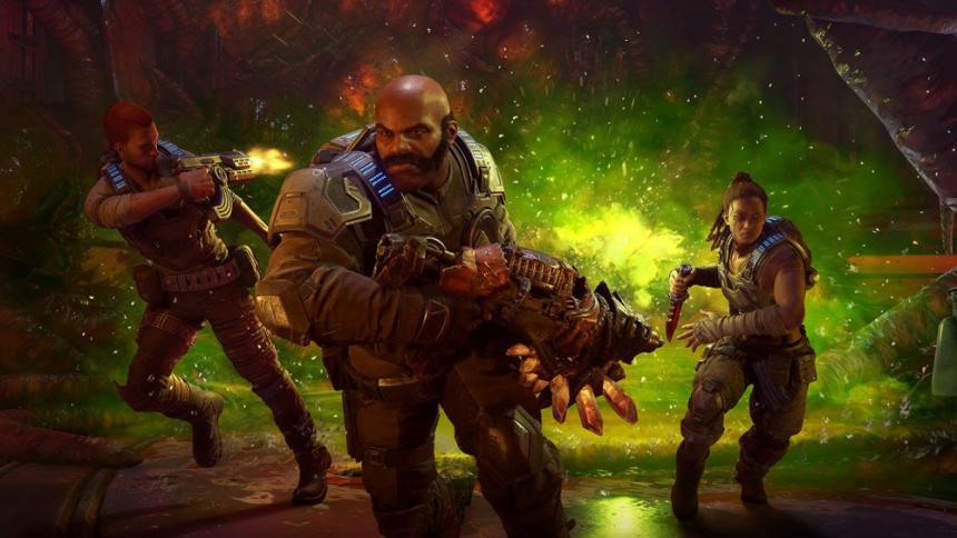 Gears 5: muestran el modo multijugador Enfrentamiento en el Summer Series Invitational