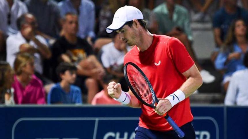Andy Murray gana con autoridad en Mallorca