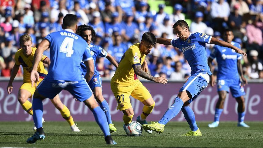 Barcelona vence al Getafe y le mete presión al Real Madrid