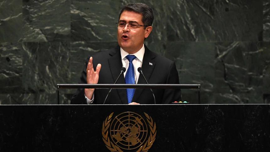 Hermano del presidente de Honduras, a juicio en EU por narcotráfico