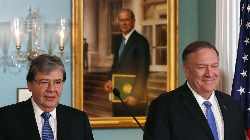 Colombia y EE.UU. ratifican compromiso con Venezuela
