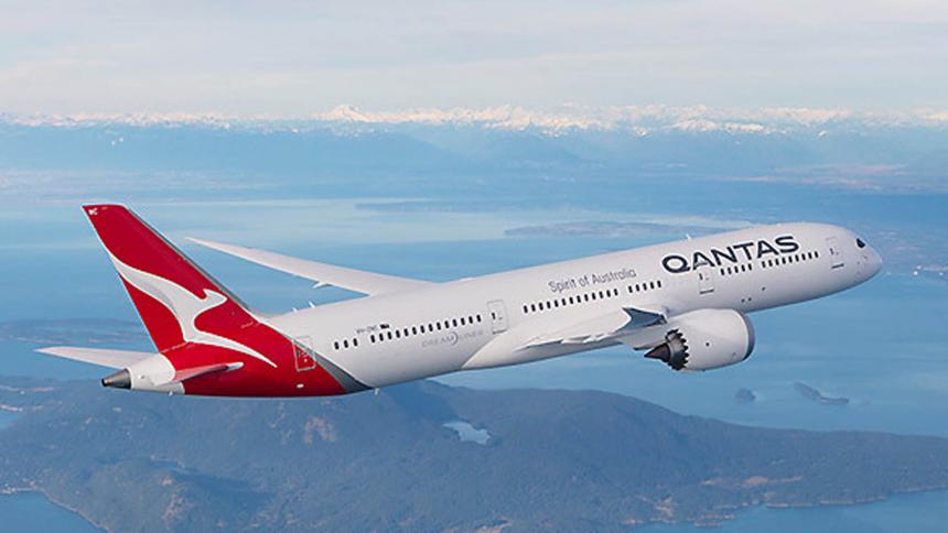 Tomada de Qantas