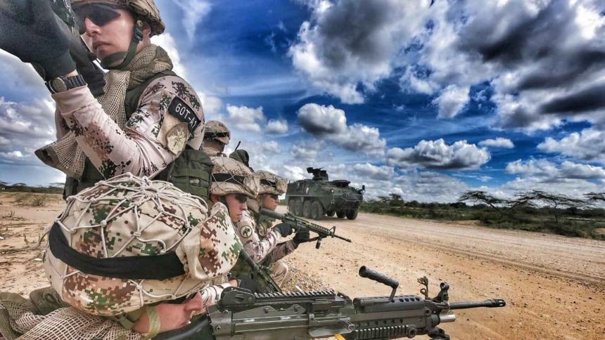 Cortesía Ejército Nacional
