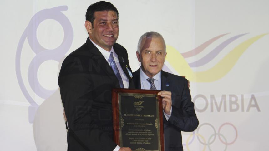 Cortesía Comité Olímpico Colombiano