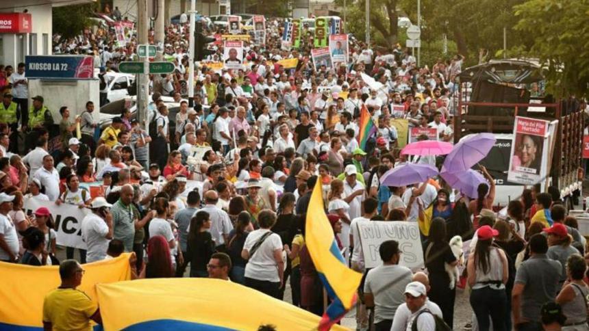 4D: Continúan las movilizaciones en toda Colombia
