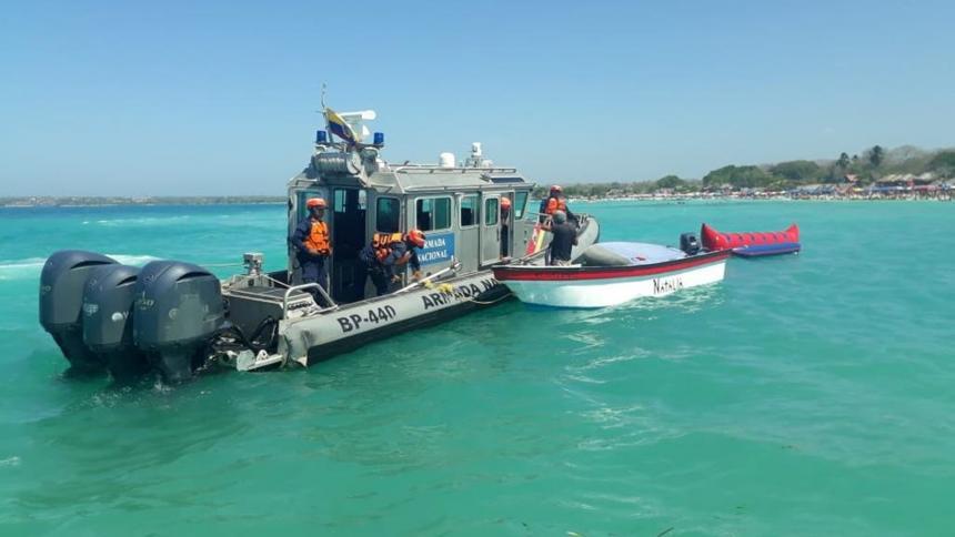 Cortesía Fuerza Naval del Caribe
