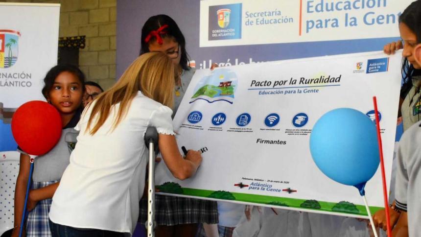 Elsa Noguera lanza los ejes para impulsar la educación en el Atlántico