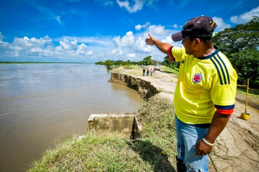 Salamina, al borde de una tragedia por efectos de la erosión - El Heraldo (Colombia)