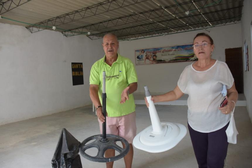 En video   Roban en iglesia de Malambo y se llevan hasta el dinero de las ofrendas - El Heraldo (Colombia)