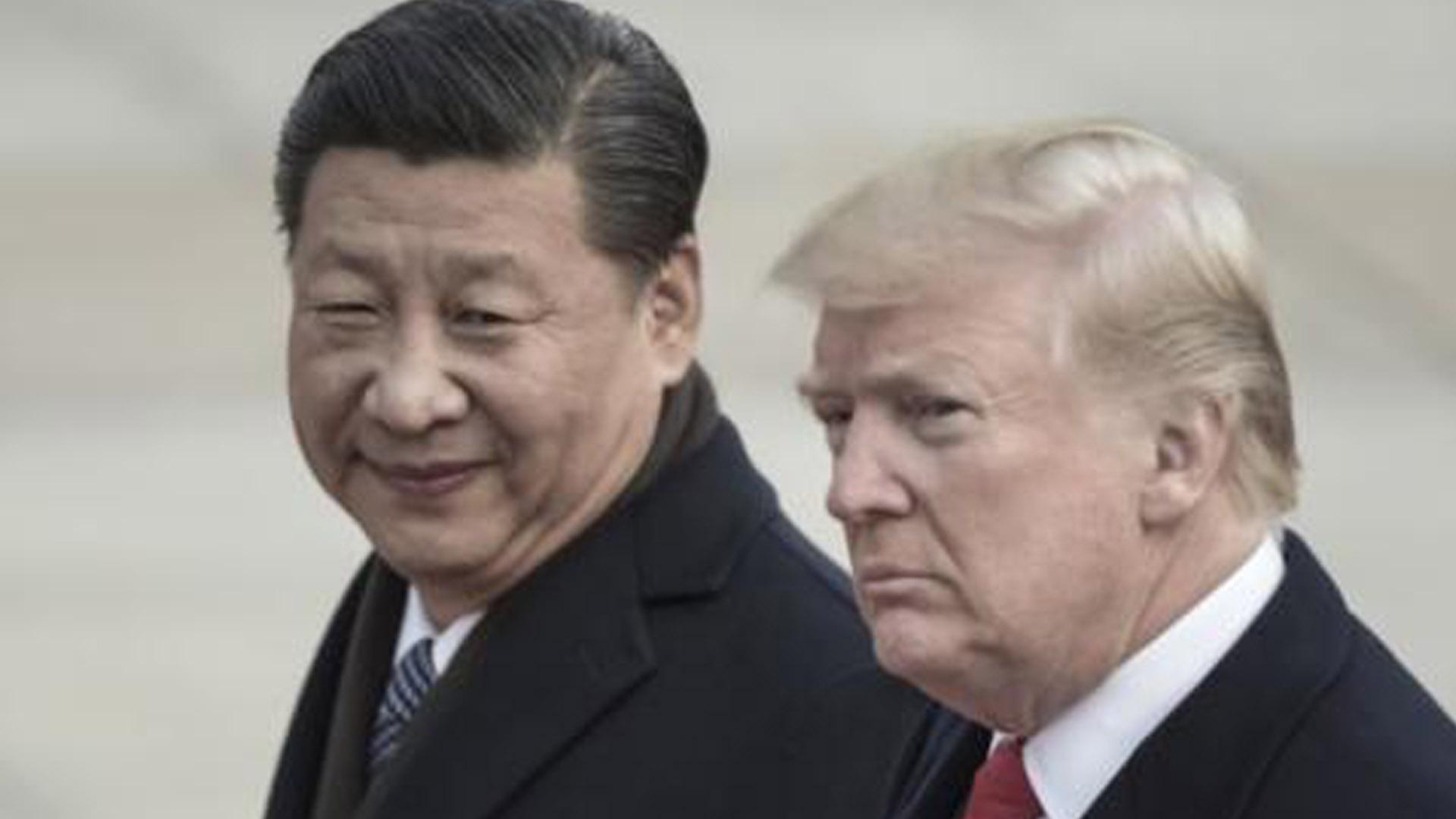 Presidente Xi Jinping y su homólogo Donald Trump.