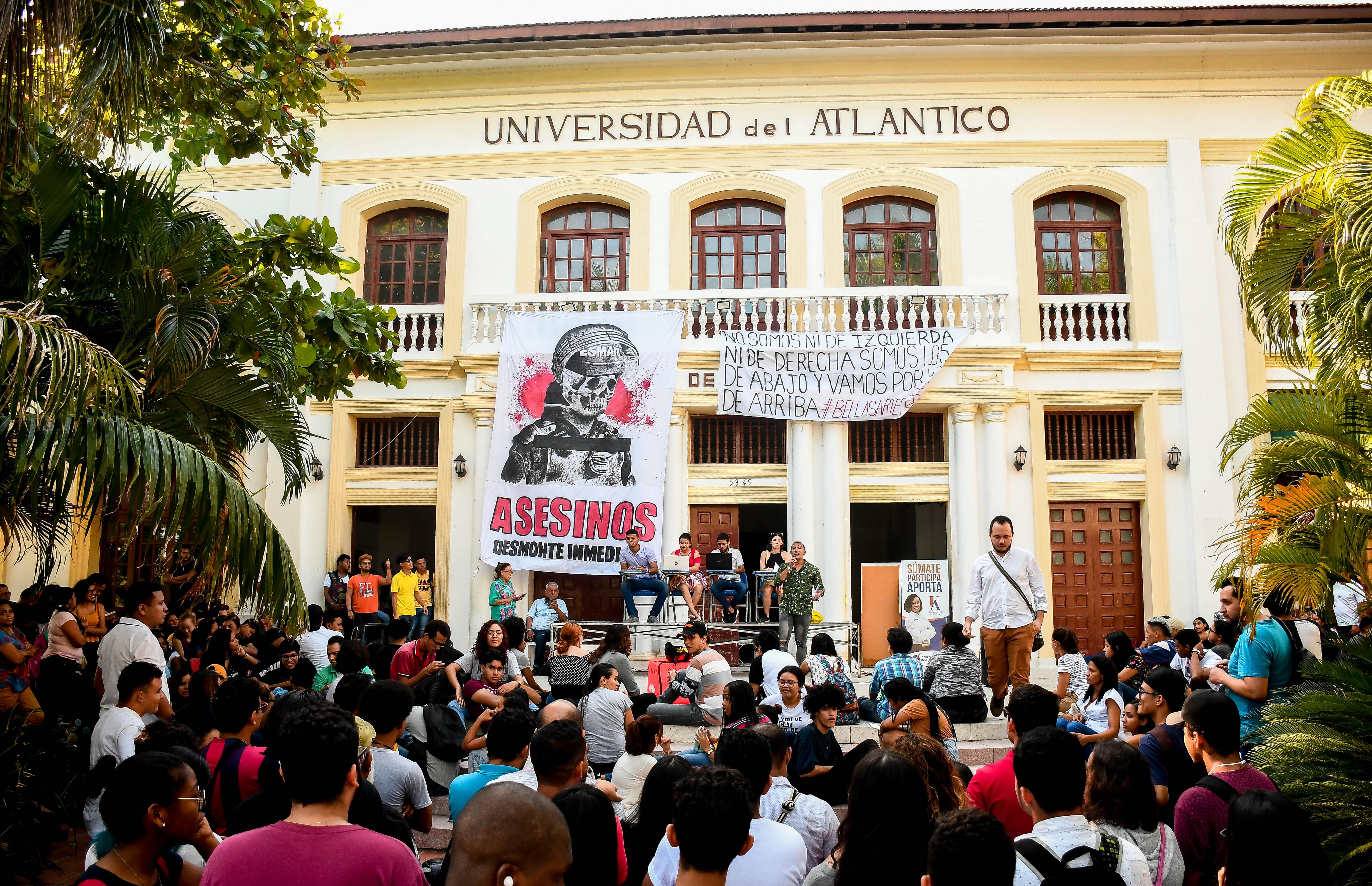 La última asamblea fue en Bellas Artes.