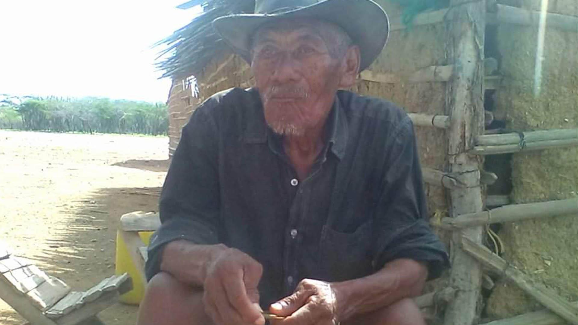 Venado Jusaru, quien murió en el 2017 sin poder cambiar su nombre.