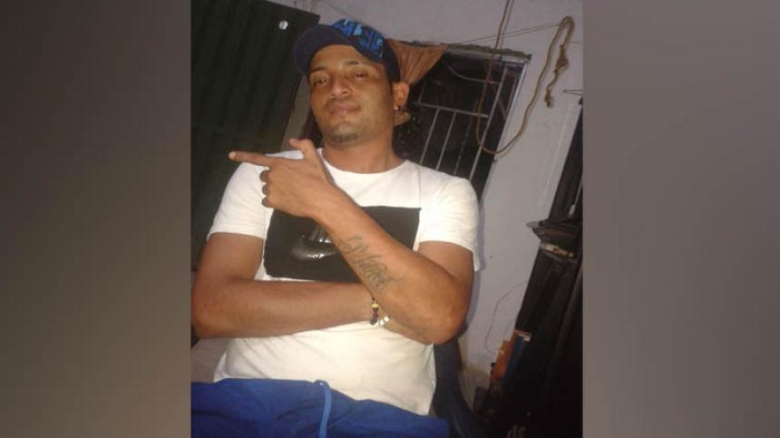 Yeison Rafael Díaz Lechuga, asesinado el 30 de agosto pasado.